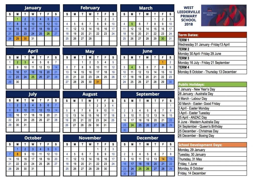 Nsw School Holidays 2017 Calendar Pdf 12