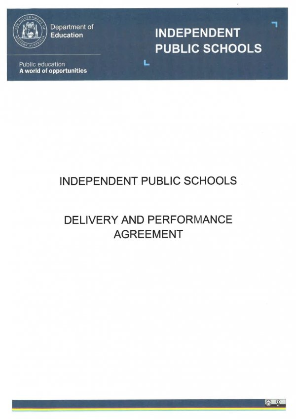 Ips Delivery And Performance Management Agreement
